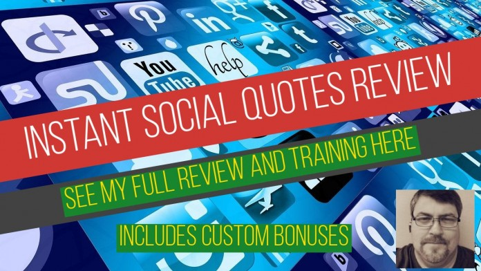 Instant Social Quotes Review