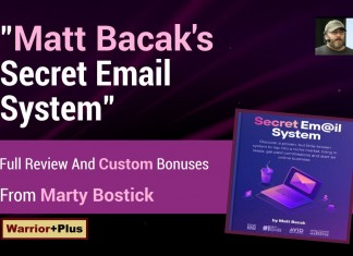 Matt Bacak Secret Email System Review